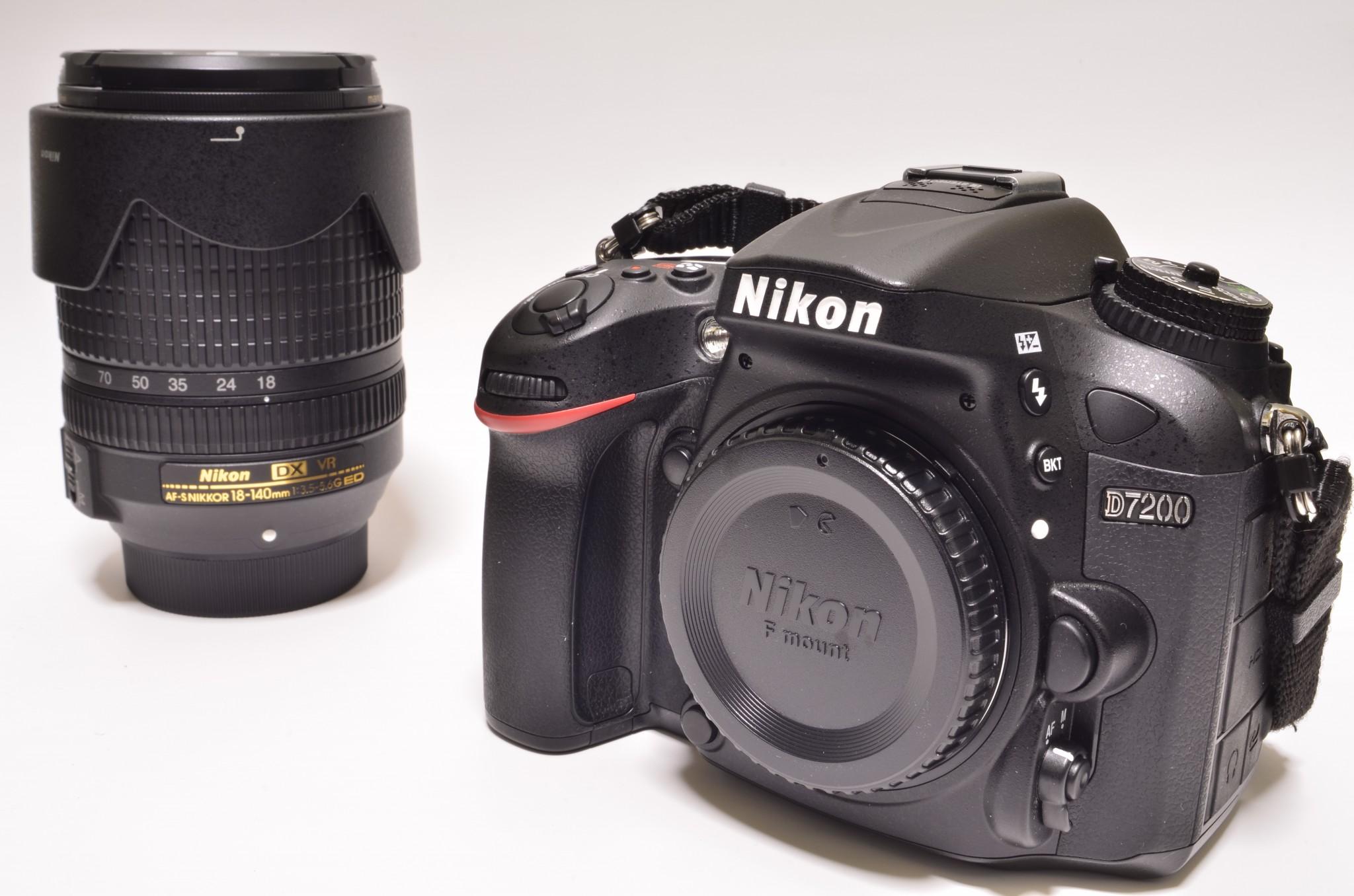 Nikon-D7200 18-140 VR レンズキット