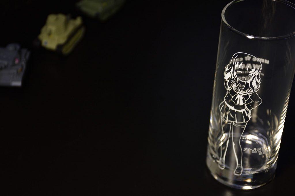 さおりんグラス ガルパン ume cafe WAON