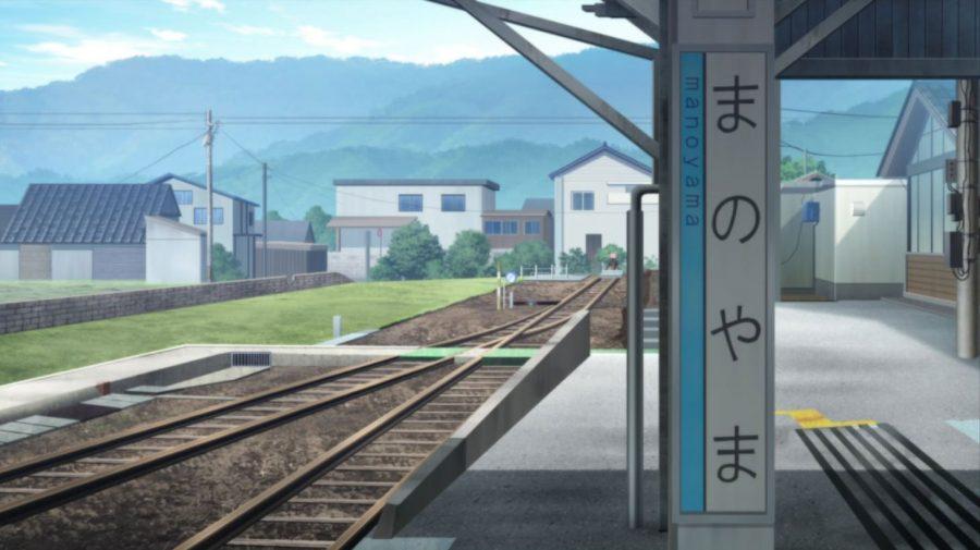 間の山駅こと城端駅