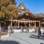 寒川神社で初詣